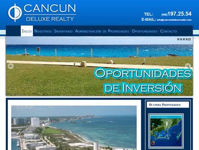 pagina-web-cancun-deluxe-realty